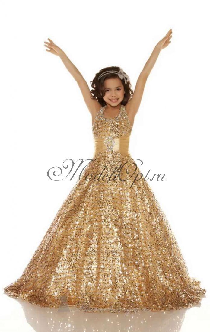 Праздничное детское платье Золушка