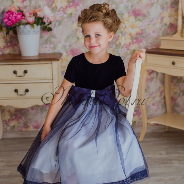 Праздичное детское платье Карина