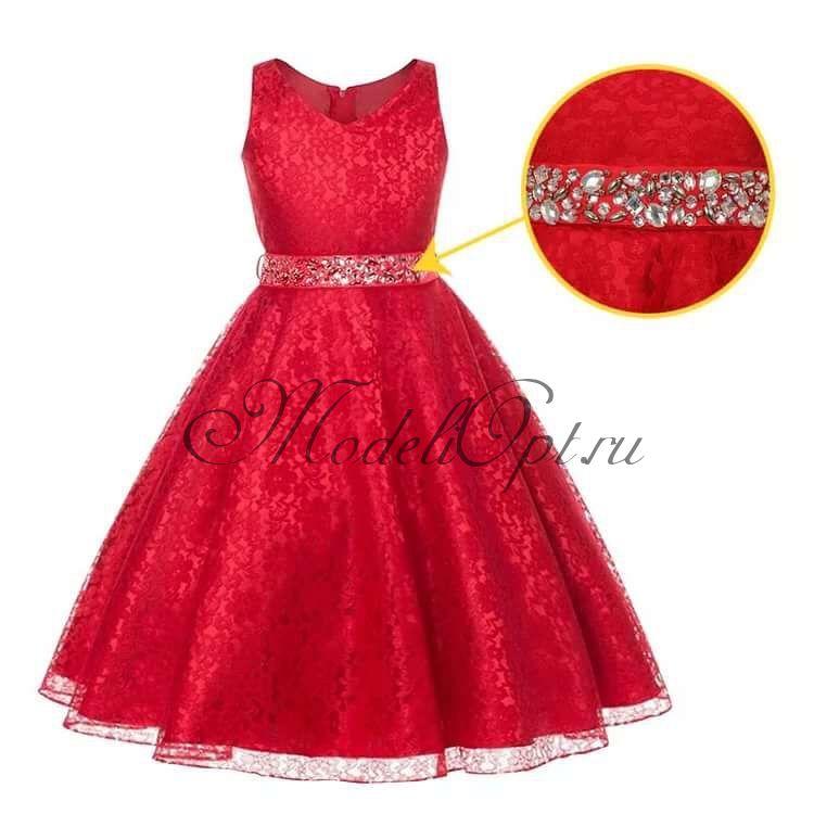 Праздничное детское платье Мила
