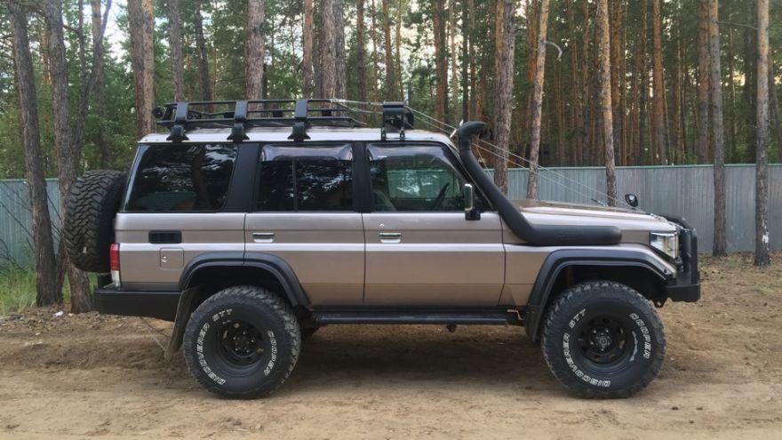 Новые рессоры Toyota LAND Cruiser/ЛЭНД Круйзер. Охотник.