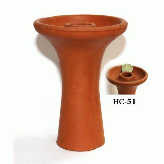 Глиняная Чаша для кальяна фанэл HC-51