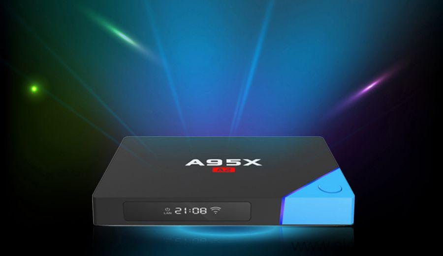 Android TV приставка Nexbox A95X A2 смарт-тв приставка 3Гб/32Гб
