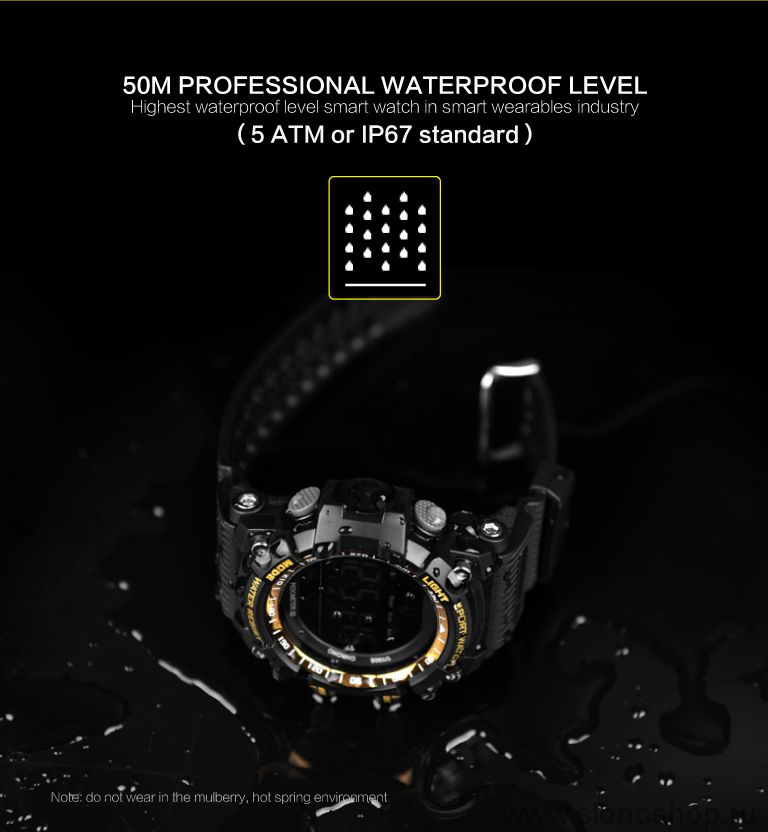 Спортивные умные смарт часы xWatch 5ATM IP67
