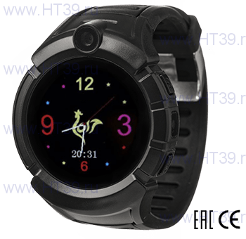 Детские часы Smart Baby Watch i8 Black