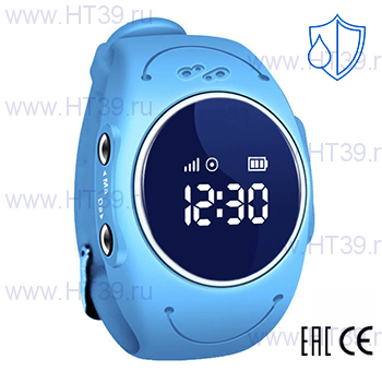 Детские часы Smart Baby Watch W8 Blue