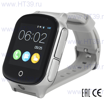 Часы Smart Baby Watch T100 Silver