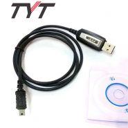 USB кабель и CD диск  для программирования раций TYT TH-9800, TH-7800, TH-MP800, TH-8600