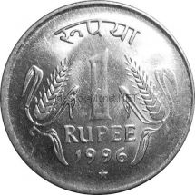 Индия 1 рупия 2000 г.