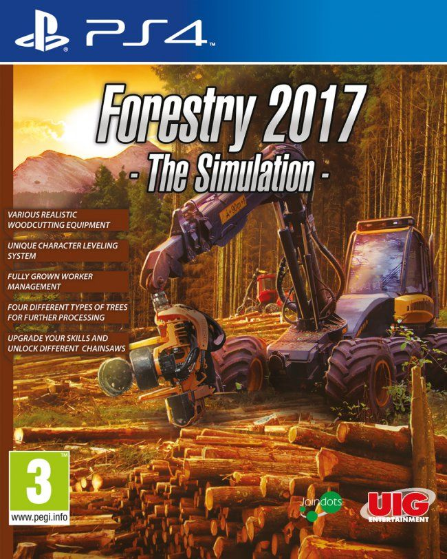 Игра Forestry 2017 The Simulation (PS4)