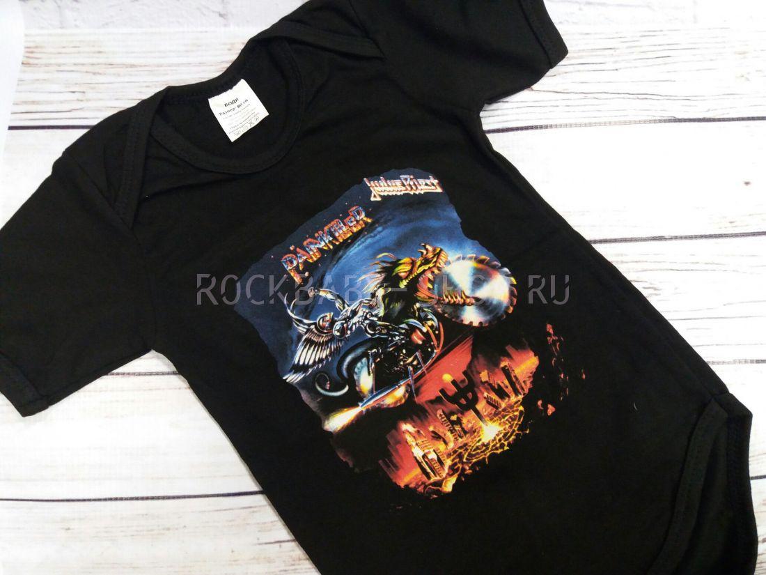 Боди детский рок Judas Priest 80 размер