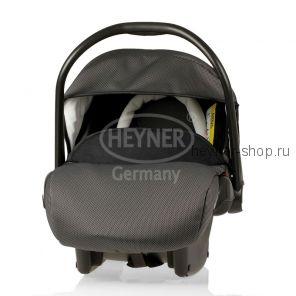 SuperProtect ERGO (СуперПротект), Детское автокресло-переноска для новорожденных HEYNER SuperProtect ERGO гр. 0+ (0-13 кг, 0-9 мес.), черный