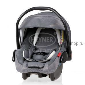 SuperProtect ERGO (СуперПротект), Детское автокресло-переноска для новорожденных HEYNER SuperProtect ERGO гр. 0+ (0-13 кг, 0-9 мес.), серое