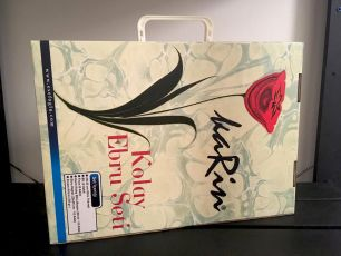 Подарочный готовый набор для творчества - для детей и взрослых: Рисование на воде Эбру