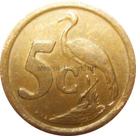 ЮАР 5 центов 1991 г.