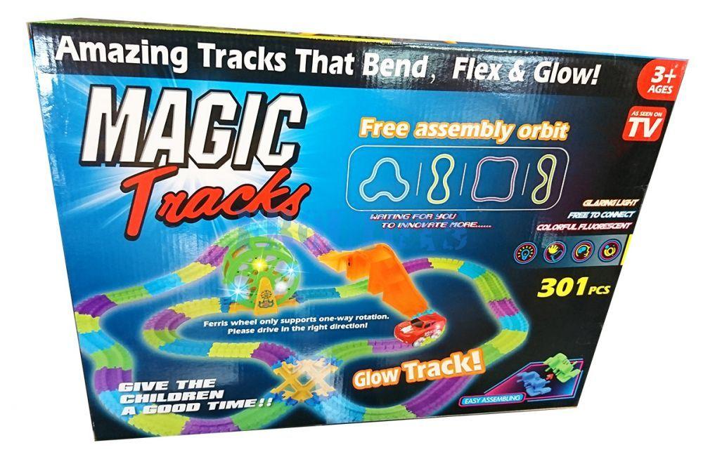 Гоночная трасса Magic Tracks 301 деталь с колесом обозрения
