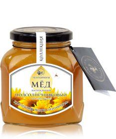 Мед подсолнечниковый, 450г