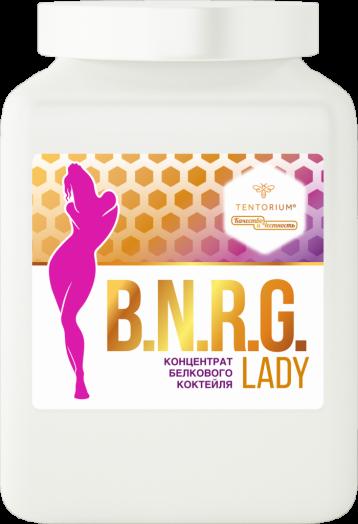 Концентрат белкового коктейля B.N.R.G LADY 500 г
