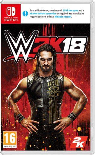 Игра WWE 2K18 (Nintendo Switch)