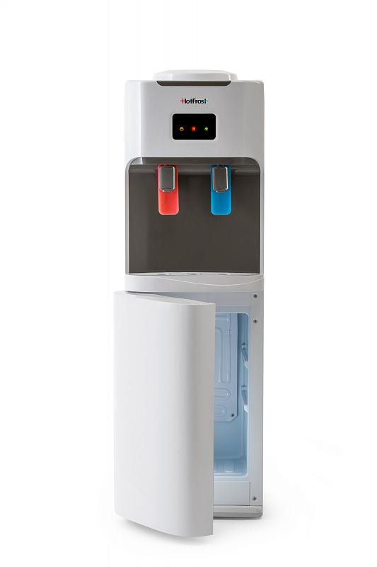 """Кулер напольный """"HotFrost V115"""" с компрессорным охлаждением и холодильником"""