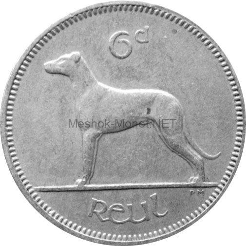 Ирландия 6 пенсов 1960 г.