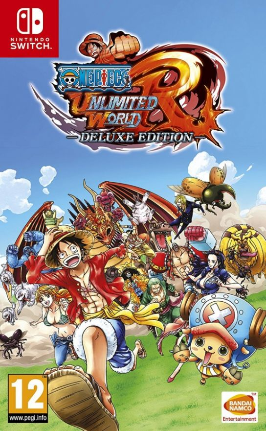 Игра One Piece Unlimited World Red Deluxe Edition (Nintendo Switch)