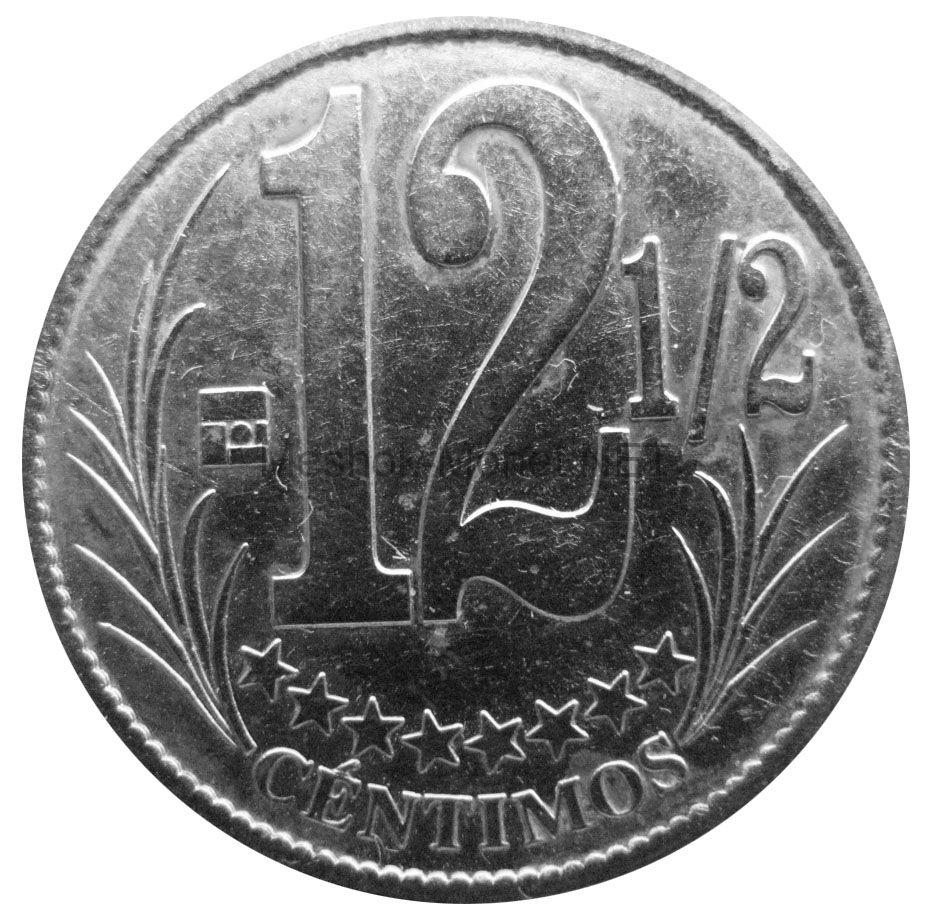 Венесуэла 12,5 сентимо 2007 г.
