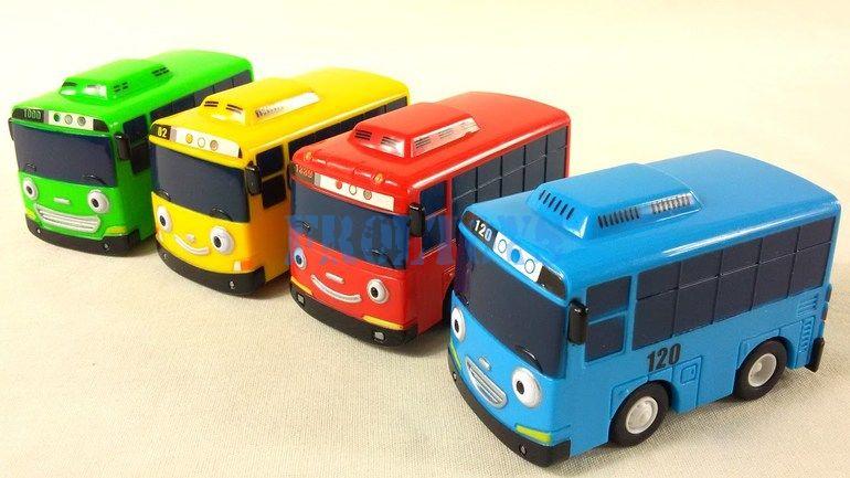 Заводные автобусы TAYO (Тайо)