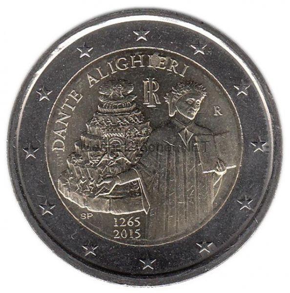 Италия 2 евро 2015, Данте Алигьери