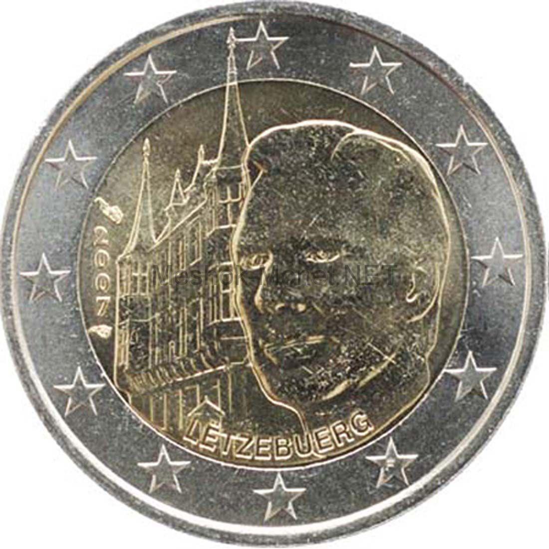 Люксембург 2 евро 2007 Дворец Великих герцогов