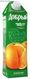 Сок Добрый Апельсин 1л*12шт