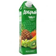 Сок Добрый Мультифрут 1л*12шт