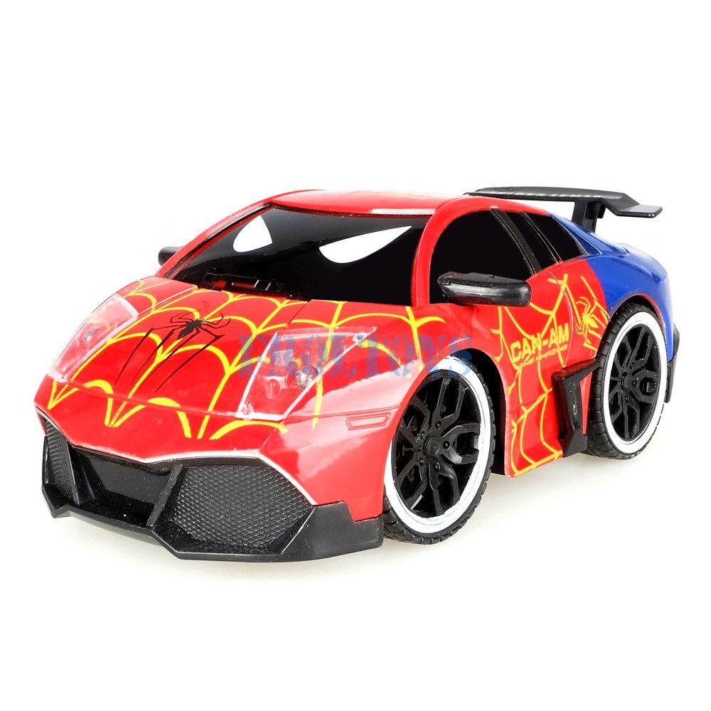 Машина  супергероя  «SPIDER - MAN»  с радиоуправлением
