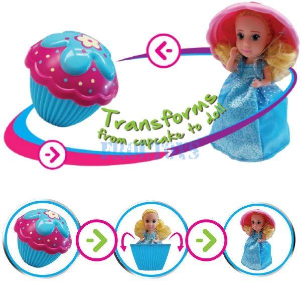 Кукла-кекс Cupcake Dressup