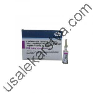 Атгам ампулы Atgam (Immunoglobulin antithymocyte) 250 Мг/МлX5 Шт.