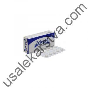 Золептил ZOLEPTIL 50 (Zotepin) 30X50MG