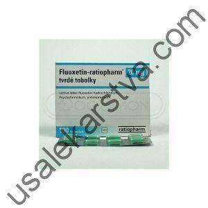 Флуоксетин FLUOXETIN-RATIOPHARM 20 MG 100X20MG