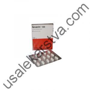 Феварин FEVARIN 100 (Fluvoxamine) 30X100MG