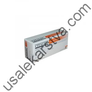 Циталек CITALEC 20 ZENTIVA (Citalopram) 60X20MG