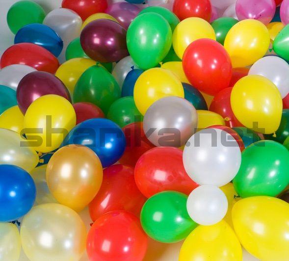 НЕ ЛЕТАЮЩИЕ шарики на пол (25 см)