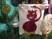 "Cross stitch pattern ""Smaug""."