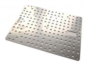 Металлическая пластина №3