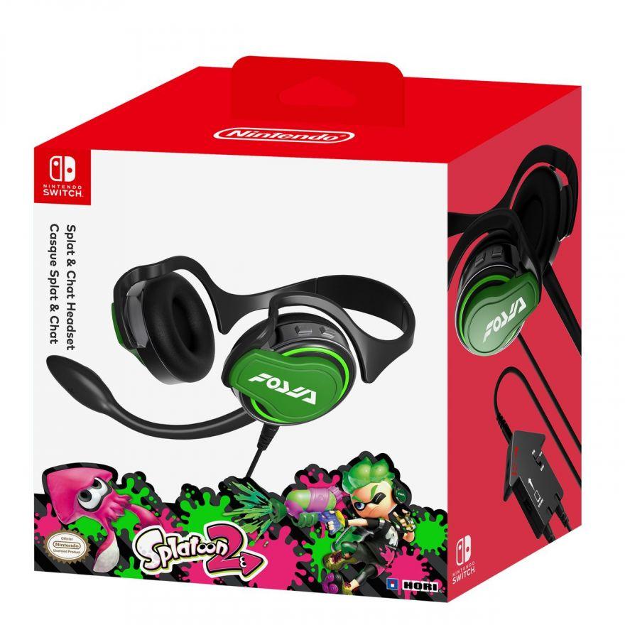 Игровая гарнитура Hori (Splatoon) для консоли Nintendo Switch (NSW-047U)