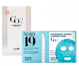 ESTHETIC HOUSE SECRET19 CO2 ESTHETIC FORMULA CARBONIC MASK - НАБОР ДЛЯ 1 ПРОЦЕДУРЫ КАРБОКСИТЕРАПИИ