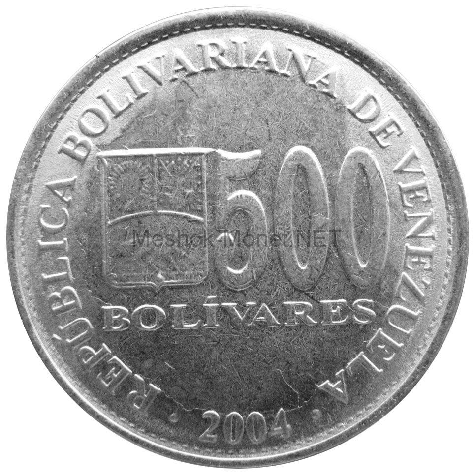 Венесуэла 500 боливар 2004 г.