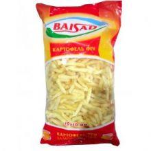 Картофель фри прямой 10 мм БайСад 2,5 кг