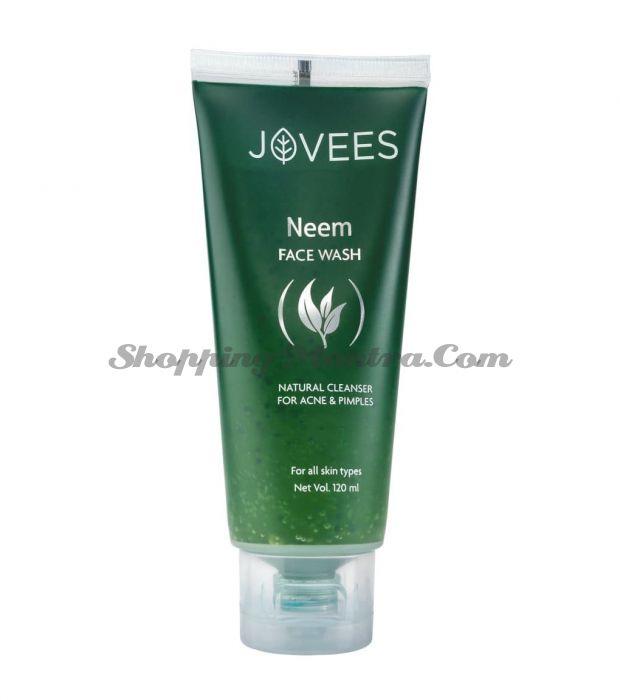 Гель для умывания Ним Джовис   Jovees Natural Neem Face Wash