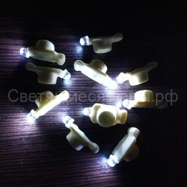 3D модуль светодиодный в защитной оболочке (белый)