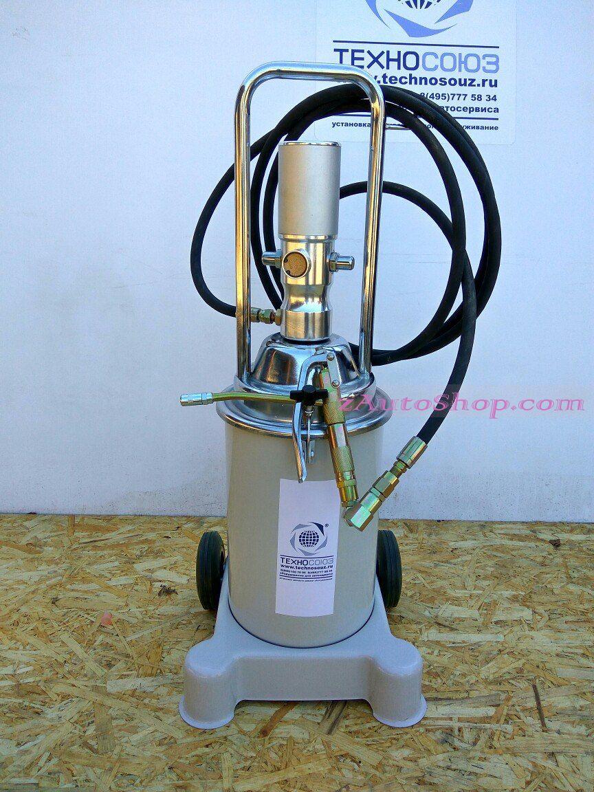 Нагнетатель консистентной смазки пневматический мобильный TS-50500
