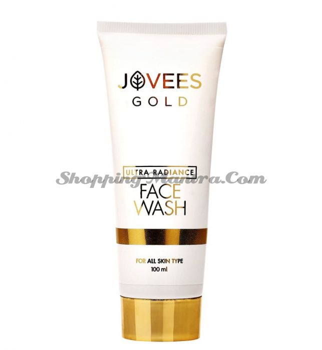 Средство для умывания с 24 карата золотом Джовис   Jovees Ultra Radiance 24K Gold Face Wash