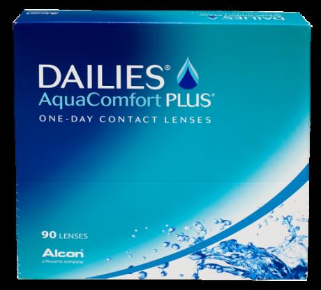 Dailies Aqua comfort plus 90 pk.